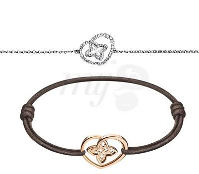 Bracelets Coeur Or Blanc, Rose et Diamants - Louis Vuitton