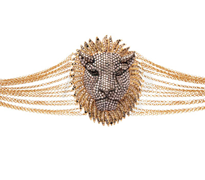 Bracelet Lion Antique - Élise Dray