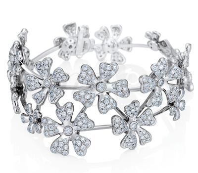Bracelet Manchette Wildflowers - De Beers