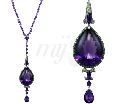 Collier Beads Amethyste Chopard's Temptations