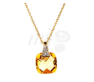 Collier Citrine Le Diamantaire - Vente Privée