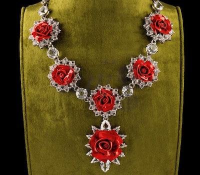 Collier Roses - Prada Joaillerie