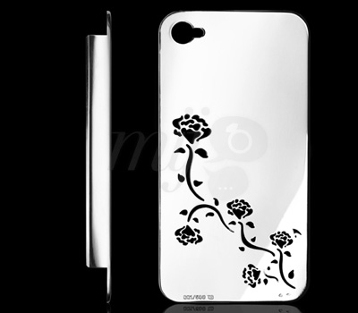 Coque Bijou Or Blanc Umberto Bellini pour iPhone 4s