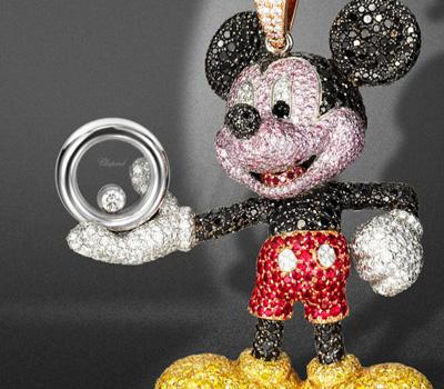 Pendentif Happy Mickey - Chopard