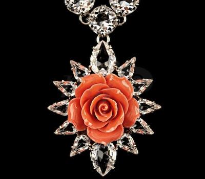 Pendentif Rose - Prada Joaillerie