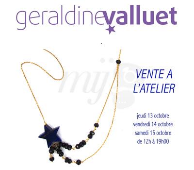 Vente Bijoux - Géraldine Valluet