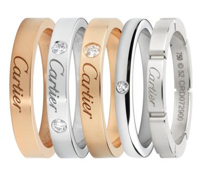 Alliances Cartier Bridal de Mariage