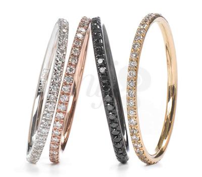 Alliances Diamants Lisonia Joaillerie à Paris