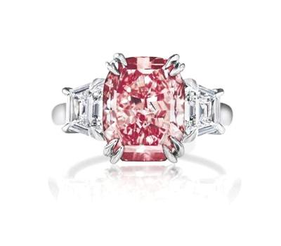 Bague Diamant Rose - Harry Winston