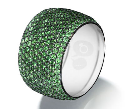 Bague Love Colors Green - Georland