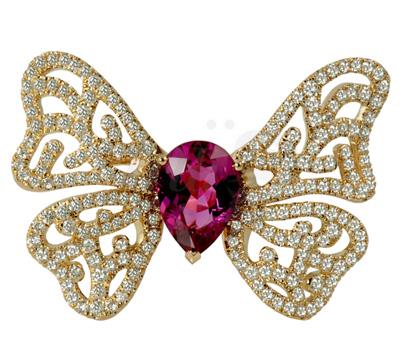 Bague Spring Butterfly Jungle Queen - Georland