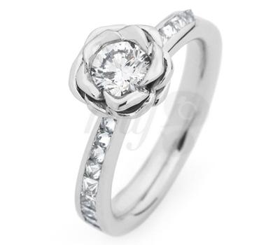 Solitaire Diamant The Rose - Jasmine Alexander