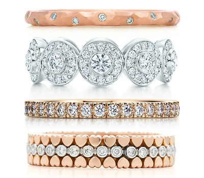 Bagues de mariage en diamants - Tiffany & Co