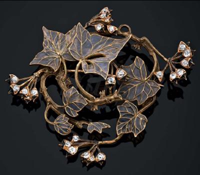 Bijou Lalique aux Enchères Artcurial
