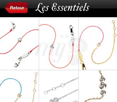 Bijoux Redline en Application iPhone