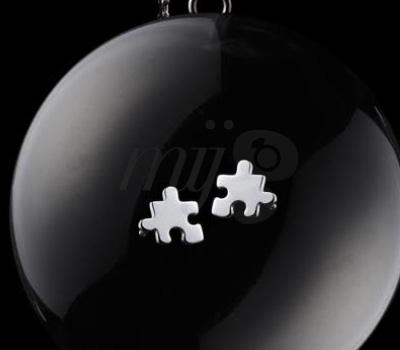 Boucles d'Oreilles Mini Puzzle Akillis