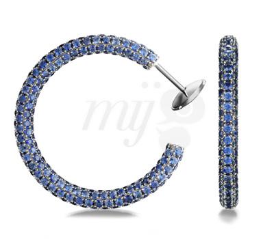 Boucles d'Oreilles Love Colors Blue - Georland