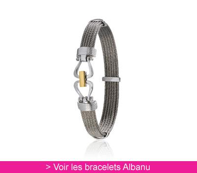 Bracelet Cap Horn en câbles droits - Albanu sur Belancy.com