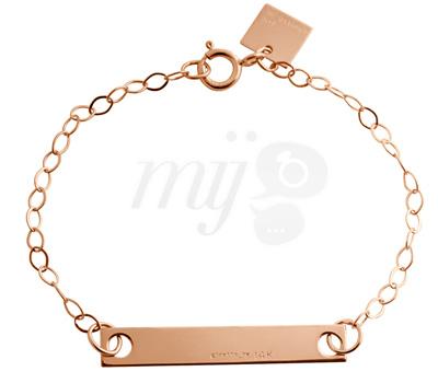 Bracelet Enfant Little Baguette - Ginette NY