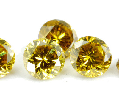 Diamant jaune - Pierre précieuse jaune