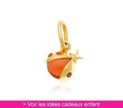 Pendentif Coccinelle - Kidou sur Belancy.com