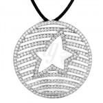 Pendentif Étoile Diamants - Lorenza Paris
