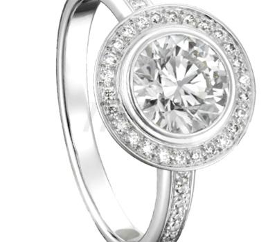 Solitaire Diamants - Cartier d'Amour