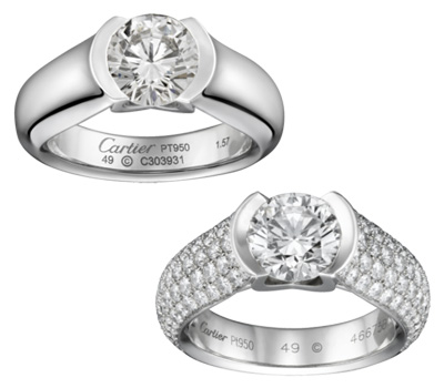 Solitaires en diamants - Cartier Bridal