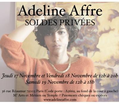 Vente Privée de Bijoux Adeline Affre