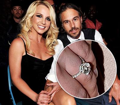 Bague de Fiançailles Diamants - Britney Spears par Jason Trawick