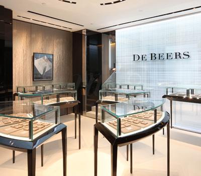 Boutique De Beers Dalian en Chine