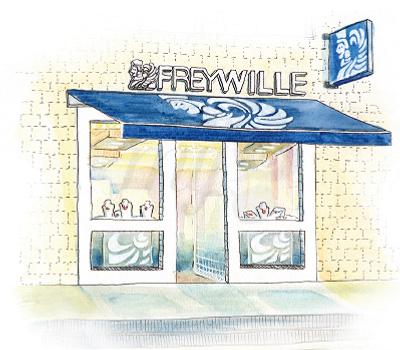 Boutique Frey Wille à Bordeaux - Illustration