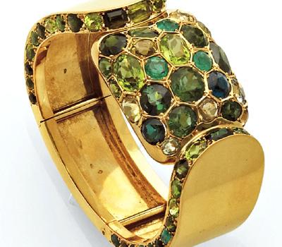 Bracelet Suzanne Belperron aux Enchères Christie's