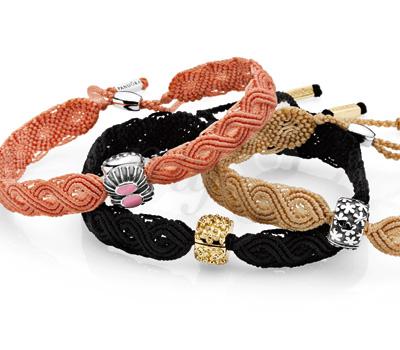 Bracelet Macramé - Pandora Bijoux