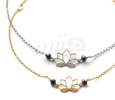 Bracelets Fleurs de Lotus - Perle de Lune