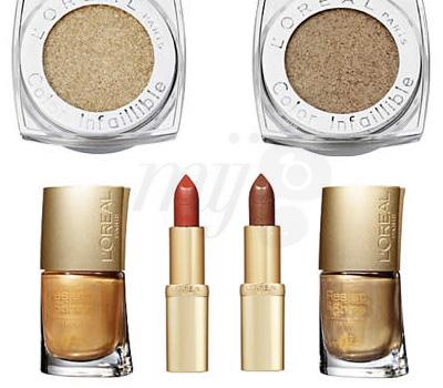 Maquillage de Fêtes L'or, L'or, L'or - L'Oréal