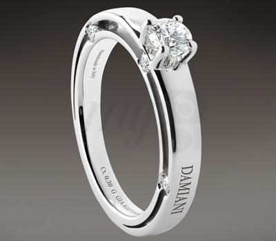 Solitaire Diamant - Damiani Joaillerie