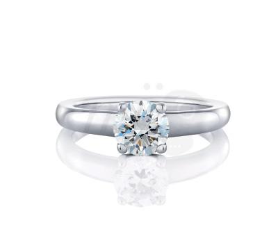Solitaire Diamant De Beers Signature