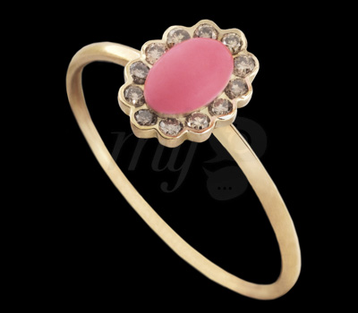 Bague Louise Collection Deux - Bliss Rose Joaillerie