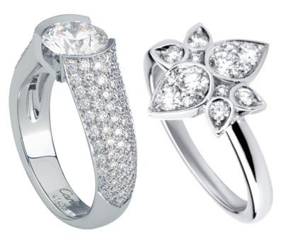 Bijoux en diamant de Cartier