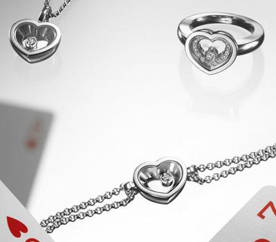 Bijoux de luxe coeur et diamant de Chopard