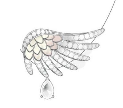 Boucles d'Oreilles Vesta - Lalique Haute-Joaillerie 2012