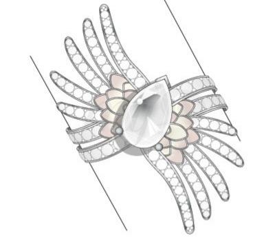 Bracelet Vesta - Lalique Haute-Joaillerie 2012