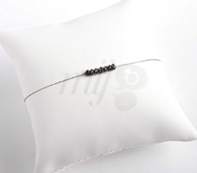 Bracelet Diamants Bruts Noirs - Mini Diams