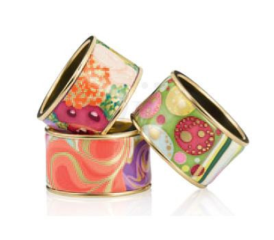 Bracelets Émail coloré et Or - Frey Wille 2012