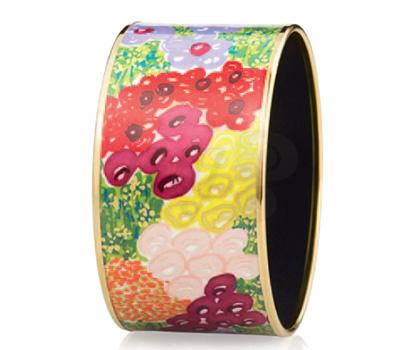 Bracelet Fleurs Impressionnistes - Frey Wille été 2012