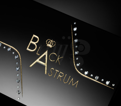 Carte de Luxe Diamants - Black Astrum