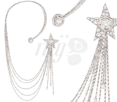 "Collier ""Etoile Filante"" - collection ""1932"" - CHANEL Joaillerie"