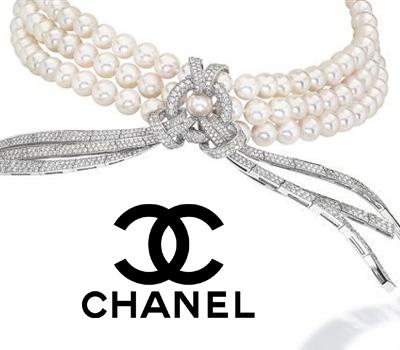 Collier de perles Chanel joaillerie