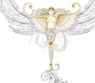 Collier Vesta - Lalique Haute Joaillerie 2012